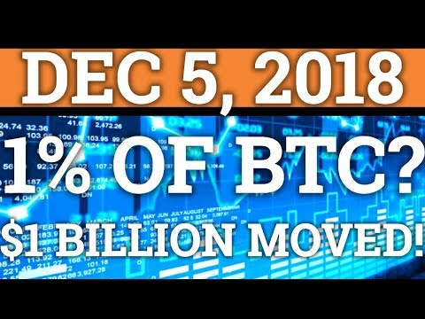 WHO OWNS 1% OF BITCOIN? $1BILLION BTC MOVED? NEW CRYPTOCURRENCY BILLIONAIRE! (RIPPLE XRP NEWS 2018)