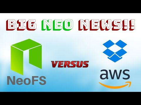 NEO vs Amazon & Dropbox, NASDAQ & Fidelity Fund ErisX – Today's Crypto News