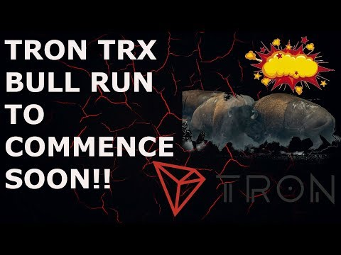TRON BULL RUN TO COMMENCE SOON!!