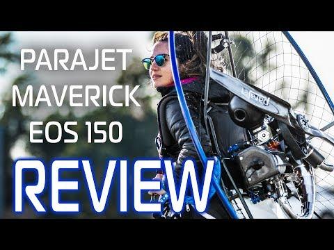 PARAMOTOR REVIEW – Parajet Maverick EOS 150