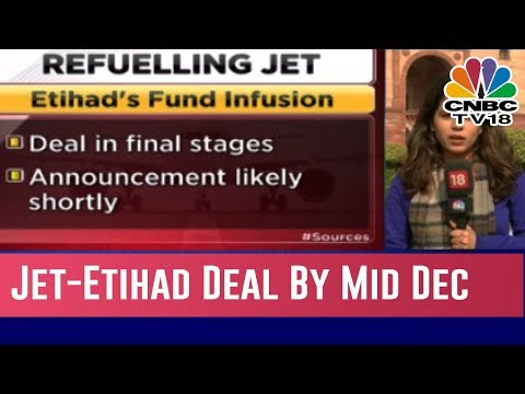 Jet Airways Finally On The Verge Of Completing Its Deal With Etihad By Mid December | Business Lunch