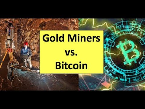Gold Miners vs. Bitcoin Bubble Update – December 5, 2018