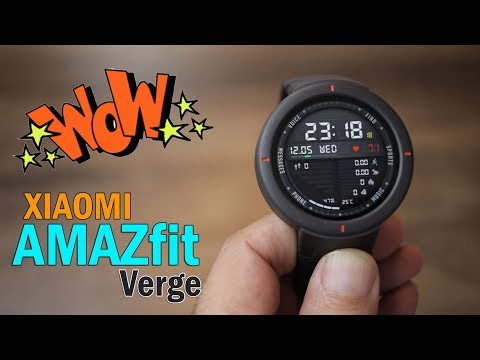 Xiaomi Amazfit Verge Review – Best Budget Smartwatch, make receive calls, Special Price Rs. 12,700