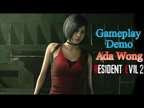 Comentando el gameplay demo de Ada Wong Resident Evil 2 Remake
