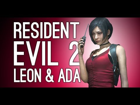 Resident Evil 2 Remake Gameplay: Leon and Ada Wong – Let's Play Resident Evil 2 Remake