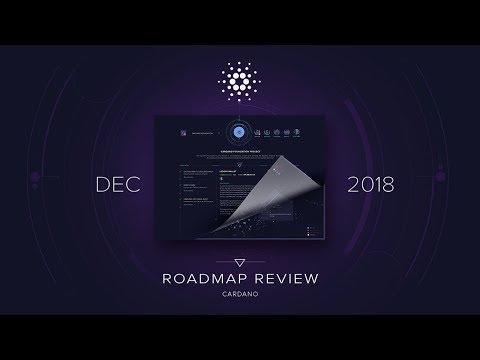 Cardano Progress Update (Dec 2018)