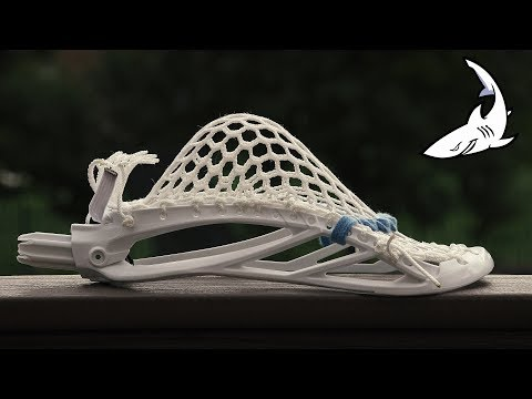 STX Duel 2 Lacrosse Head Stringing Tutorial