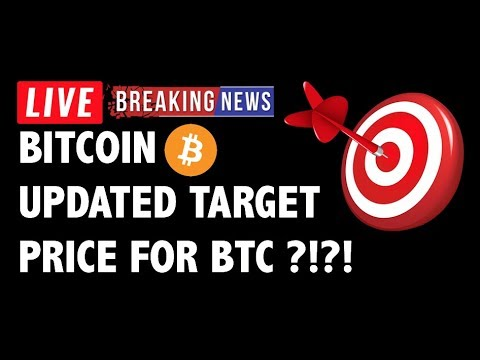 🎯 UPDATED: Price Targets for Bitcoin (BTC)?! – Crypto Market Trading Analysis & Cryptocurrency News