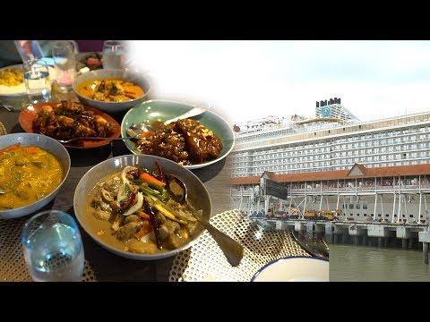 Takut bercuti naik kapal mewah, risau tak ada makanan halal