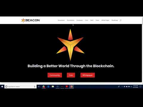 Beacon BECN – Great new project showing cryptocurrency in the best light!