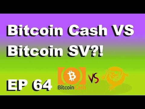 """Craving Crypto EP 64 """"Bitcoin Cash VS Bitcoin SV (TA)"""""""