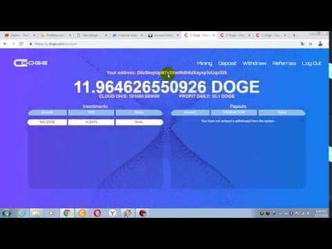 Pengganti WOOXDOGE masih 1 hari FREE 10.000 GHs [WD PROFITEOS 5200 DOGE]