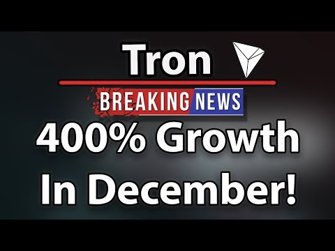 Why Tron (TRX) Will Get 400% Growth In December! – CEO Justin Sun