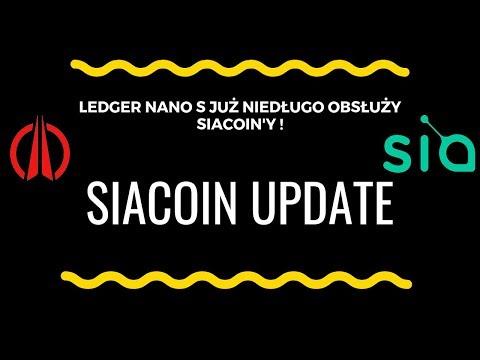 Nowe funkcjonalności w projekcie SiaCoin ! Integracja z Ledger Nano S już niedługo !