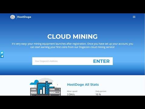 HostDoge | Mineração de Dogecoin | Dobre seus Doge em 10 Dias