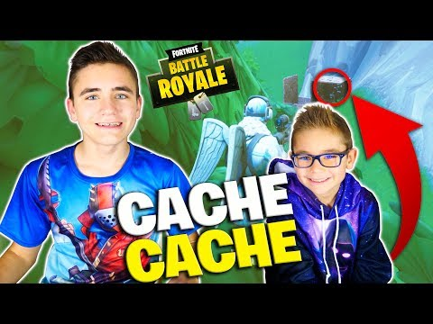 CACHE-CACHE FORTNITE ENTRE FRÈRES – Swan The Voice VS Néo The One