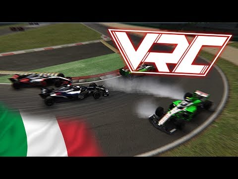 VRC F1 Assetto Corsa Season 2 HIGHLIGHTS – MONZA #8