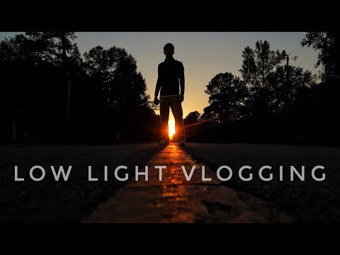 How To Vlog At Night With The Canon Eos M50