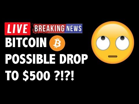 Is It Possible Bitcoin (BTC) Drops to $500?! – Crypto Market Trading Analysis & Cryptocurrency News