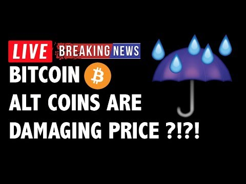 Are Altcoins Dragging Down Bitcoin (BTC)?! – Crypto Market Trading Analysis & Cryptocurrency News