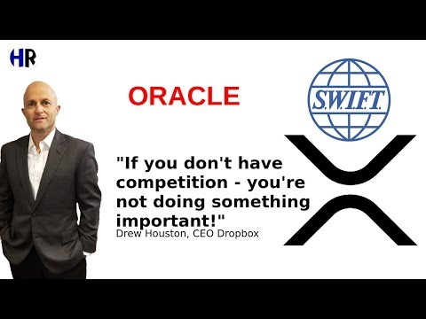 ORACLE – RIPPLE has competition – the competition doesn't have XRP