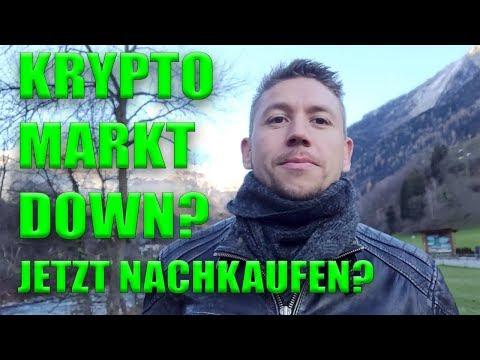 Krypto Markt down? Jetzt nachkaufen? Meine Gedanken zu Bitcoin, Ethereum, IOTA, TenX Pay Token