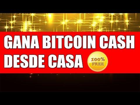 Free-Bcash Tutorial para ganar Bitcoin Cash sin Inversión (Prueba de Pago)