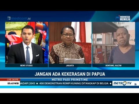 Jangan Ada Kekerasan di Papua
