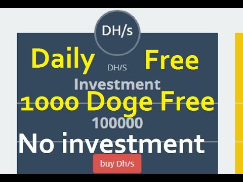 Free Earn 1000 Dogecoin Daily Without investment