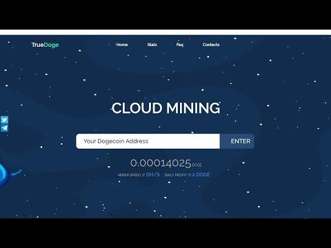 TrueDoge | Mineração de Dogecoin | Dobre seus Doge em 10 Dias