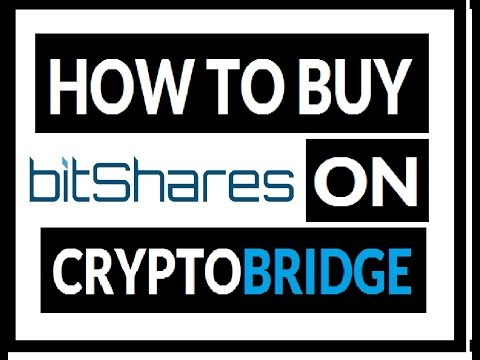 How to Buy BitShares [BTS] On CryptoBridge