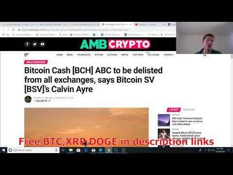 Bitcoin Cash SV vulnerability Found, Bitcoin Cash ABC gets Gemini Listing