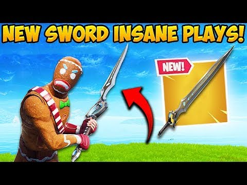 *NEW* LEGENDARY SWORD IS INSANE! – Fortnite Funny Fails and WTF Moments! #408