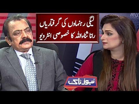 Rana Sanaullah Exclusive Interview | News Talk | Neo News
