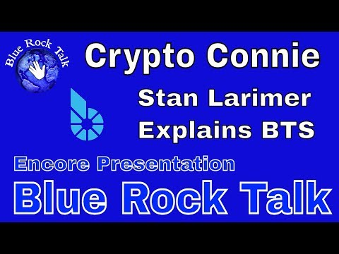🖖 CRYPTO CONNIE: ENCORE PRESENTATION, Stan Larimer explains BitShares