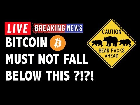 Bitcoin (BTC) Must NOT Fall Below THIS Line?! – Crypto Market Trading Analysis & Cryptocurrency News