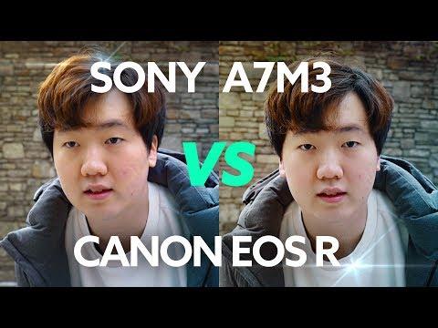 소니 A7III vs 캐논 EOS R – 싸움을 붙여보았씁니다. [비디오성능 위주 비교]