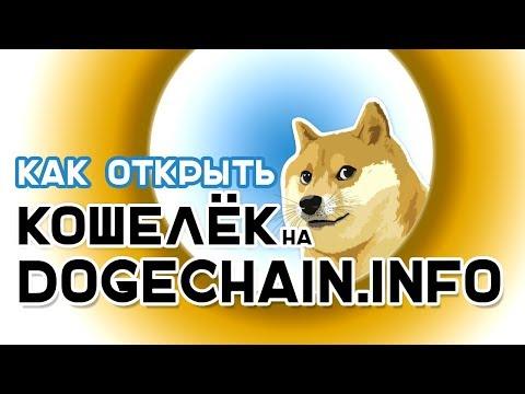 Как и где открыть Doge кошелек или как открыть Doge кошелек на Dogechain.info
