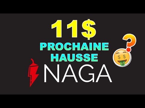 NAGA 11$ PROCHAINE HAUSSE !? NGC analyse technique crypto monnaie BITCOIN
