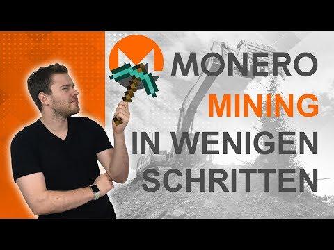 ⛏Tutorial: Dein Monero Mining in wenigen Schritten🖥