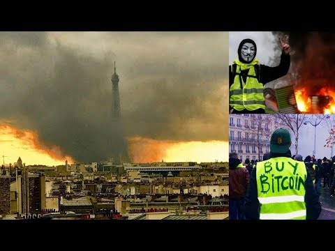 French Revolution Breakup of EU is Good for Bitcoin and Gold, Best Protest in France Footage