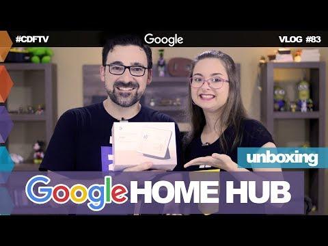 IoT: Nossa Casa Automatizada // Unboxing Google Home Hub – Vlog #83