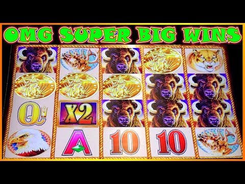 😲 OMG 4 COINS TRIGGER PAID OFF❗️ 😲 SUPER BIG WINS ON BUFFALO GOLD INSANE SPINS POKIES