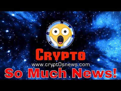 😱 SO MUCH NEWS EDITION!! – Cryptocurrency, Ethereum, EOS, & Bitcoin News LIVE (Dec. 13th, 2018)