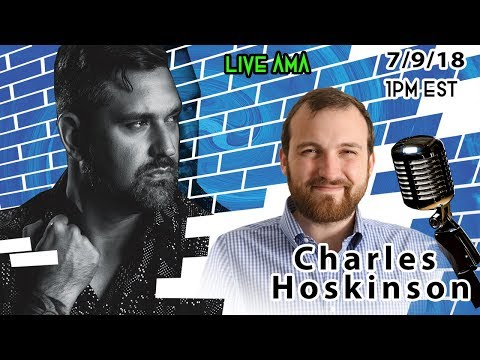 Live Interview with Charles Hoskinson CEO of Cardano (ADA) – Cardano Price – ADA 2019? 🚀 👥