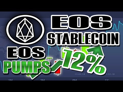 EOS PUMPS amid EOS Stablecoin Release! Swiss ETP Hits RECORD Volume, Bitcoin STILL DOWN!