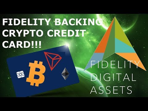 FIDELITY BACKING CRYPTO CREDIT CARD!!! BITCOIN ADOPTION IN THE MAKING!