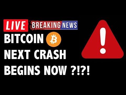 🚨 Next Bitcoin (BTC) CRASH Begins NOW?! – Crypto Market Trading Analysis & Cryptocurrency News