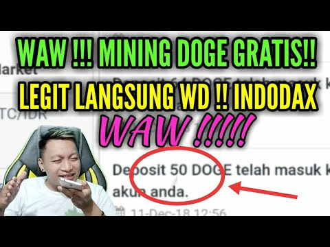 LEGIT !! TERBUKTI MEMBAYAR !! Free DOGE COIN MINING LANGSUNG WD!!