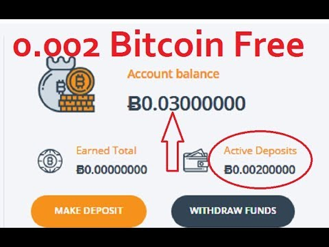 New Bitcoin Mining Site Earn Daily 0.002 Btc Free Without Investment